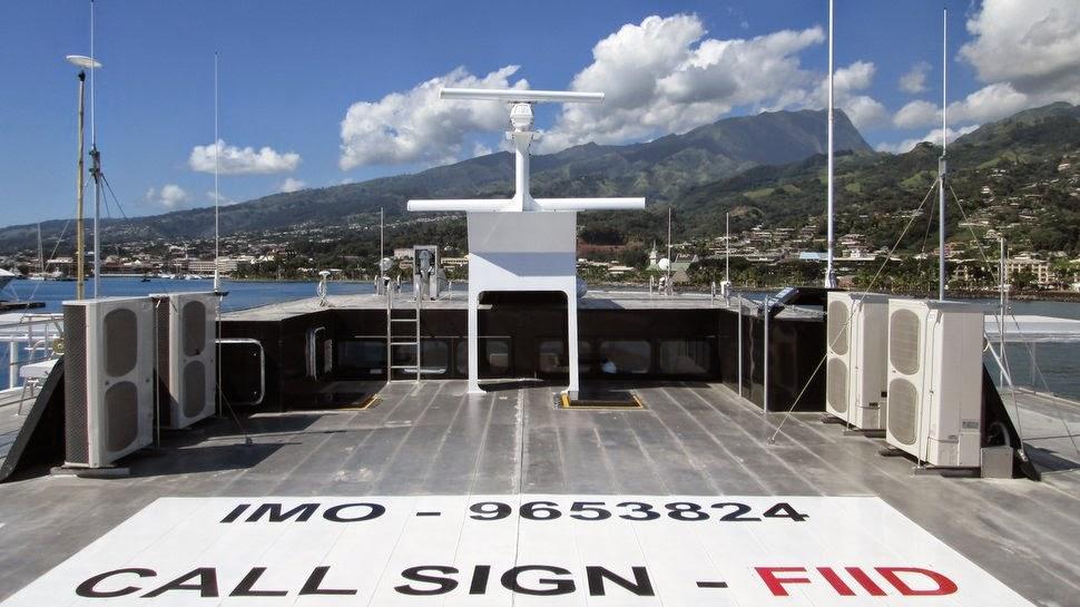Aremiti ferry 2 à Papeete - Tahiti