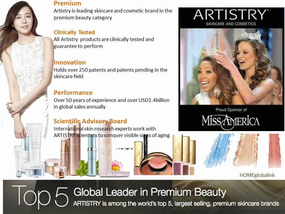 Artistry-Top 5 Premium Skin Care & Beauty Brand