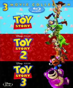 Toy Story 1 2 3 Torrent (1995 a 2010) – BluRay 1080p Dublado Download