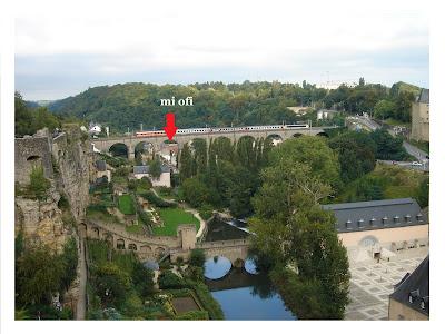 Mi oficina en Luxemburgo