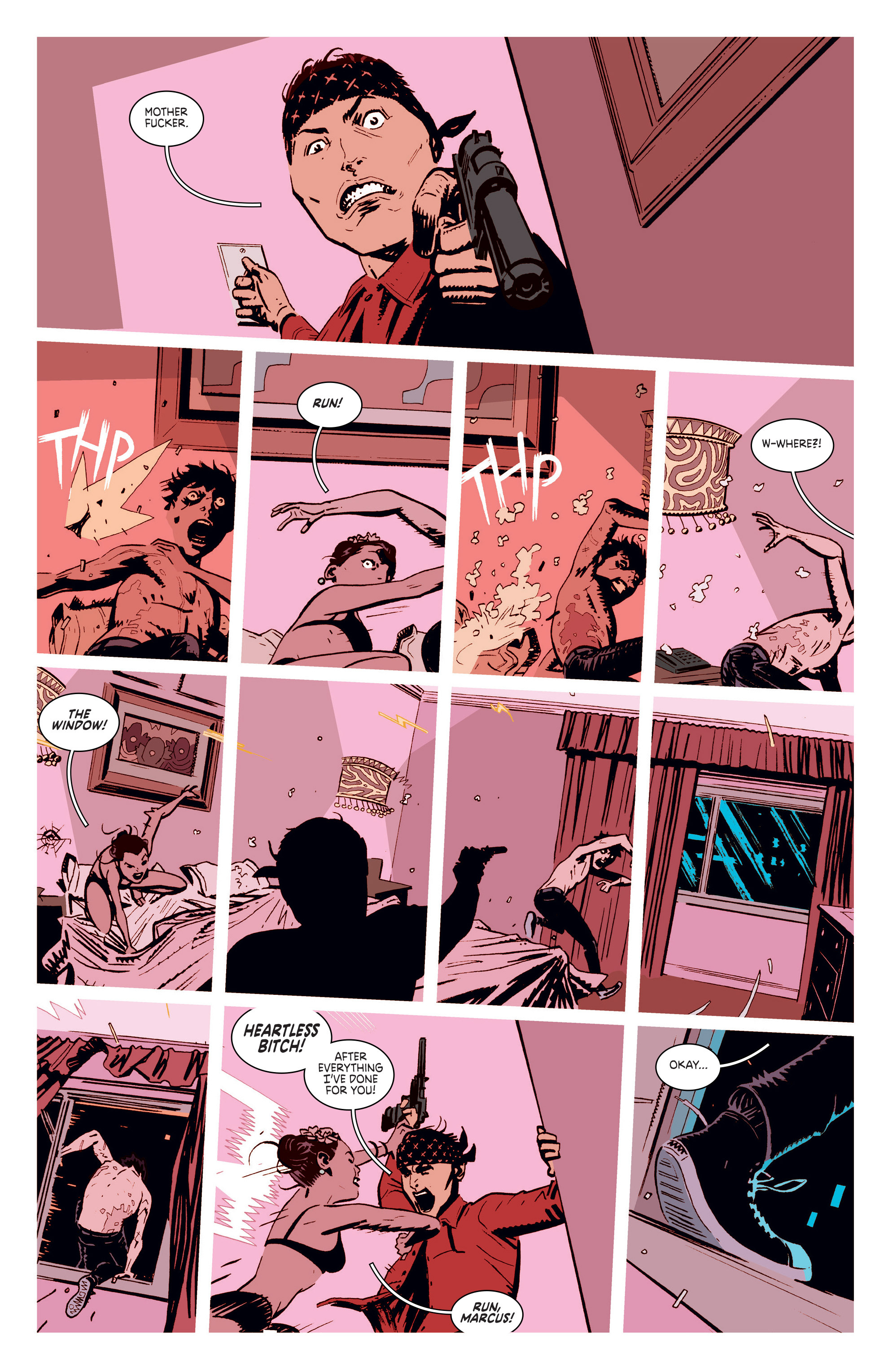 Read online Deadly Class comic -  Issue #5 - 16