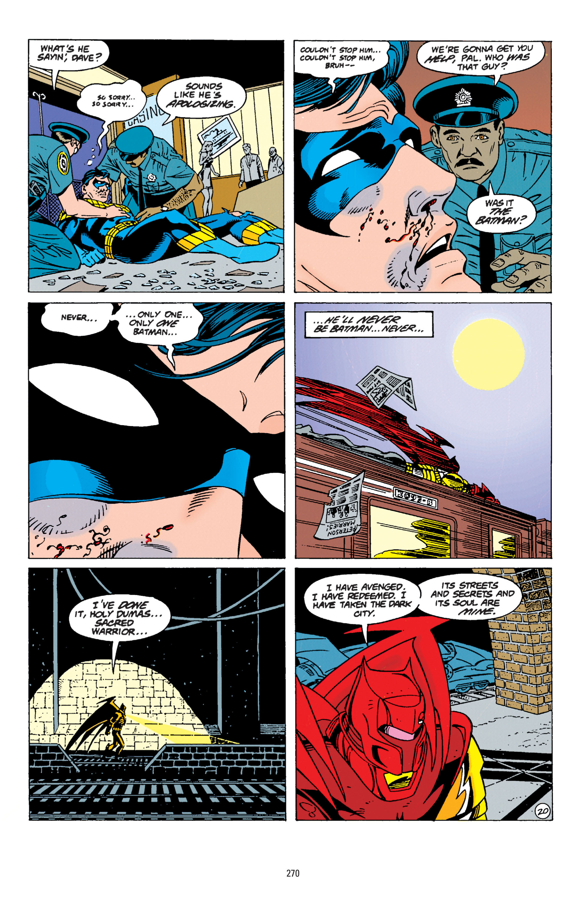 Detective Comics (1937) Issue #677 Page 20