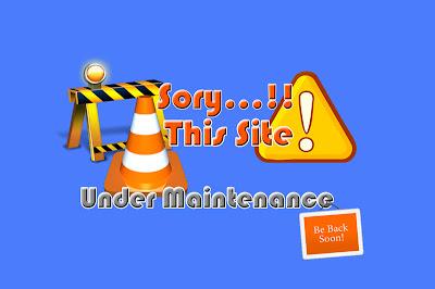 Membuat Status Maintenance Pada Blogger