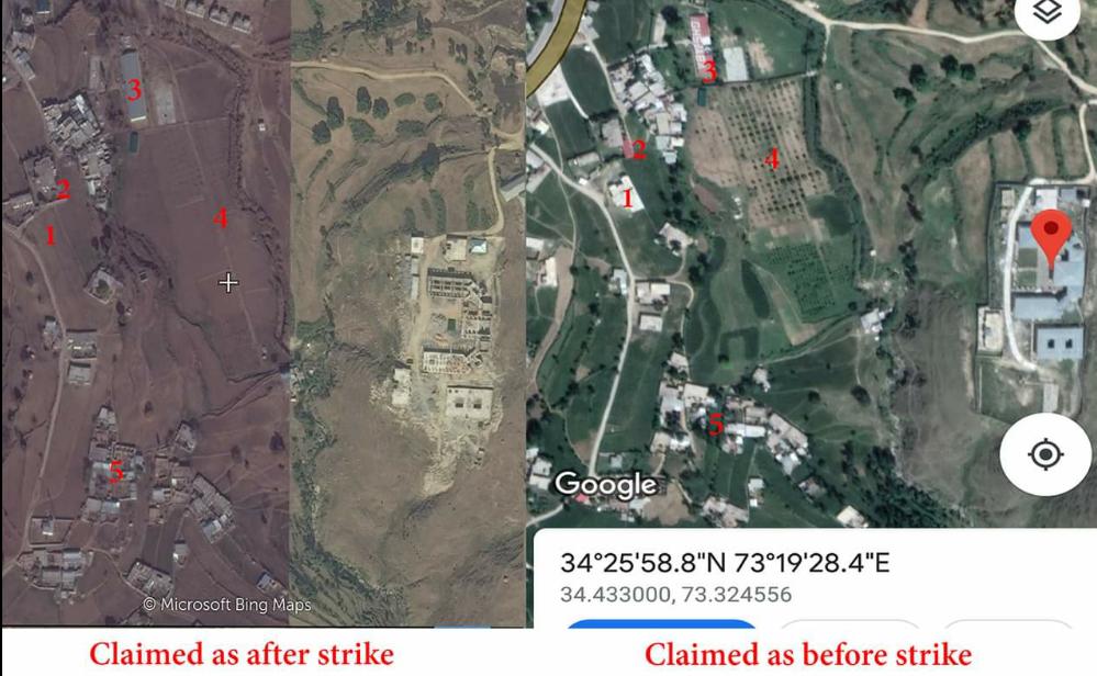 Misleading Satellite Images Being Shared On Balakot
