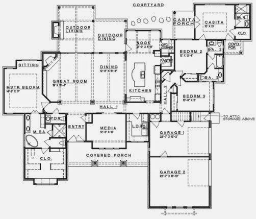 Dibujo tecnico facil de hacer planos para una casa - Dibujar planos de casas ...