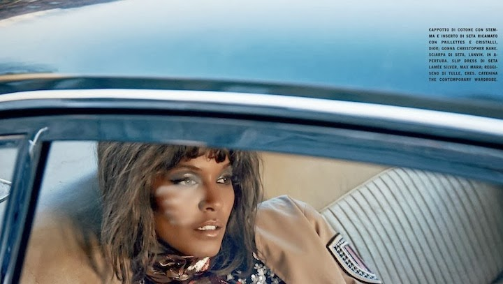 Liya Kebede By Yelena Yemchuk For Vogue Italia January 20142