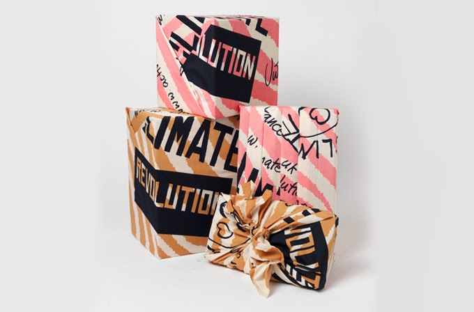 Climate Revolution Knot-Wrap by Vivienne Westwood, at Lush.