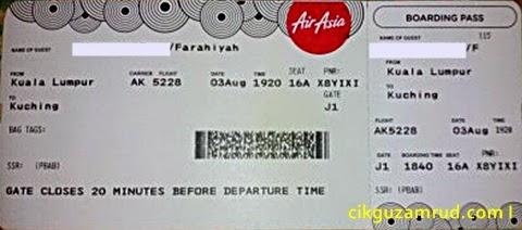 Tiket Air Asia RM10 00