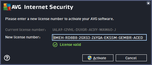 AVG Internet Security Software Online Protection
