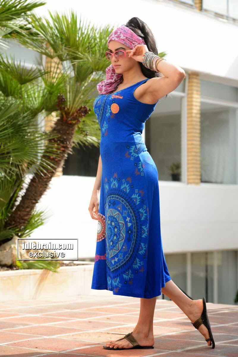 Adah Sharma blue