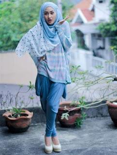 Contoh Baju Muslim Casual Modern