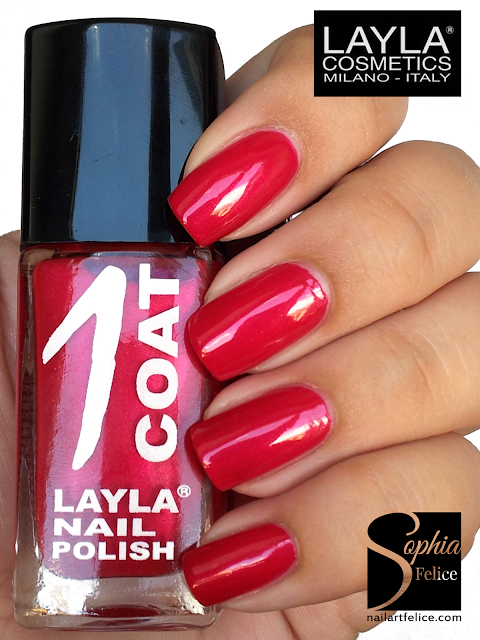 one coat layla n°21 - cherry brandy