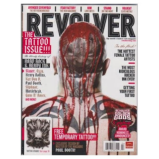 Revolver Magazine - The Tattoo Issue - The Bloody History of Hard Rock & Heavy Ink