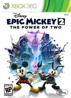 Epic Mickey 2 The Power Of Two Xbox 360 Español Región Free 2012