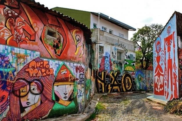Arte Urbano y Murales en Sao Paulo