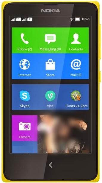 Nokia X Front