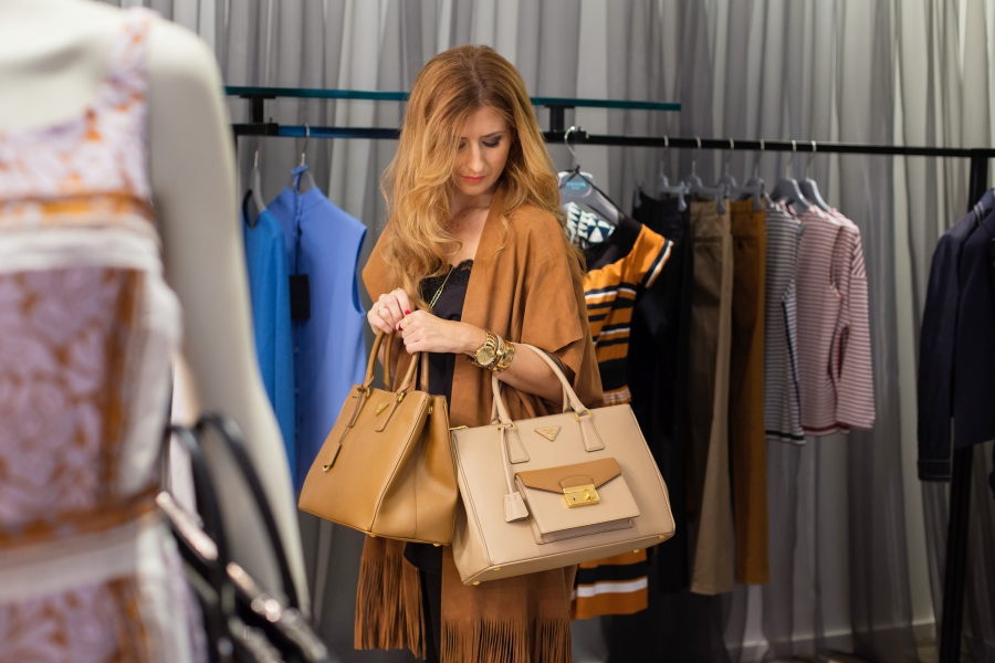 Shopping Time. Prada Bag