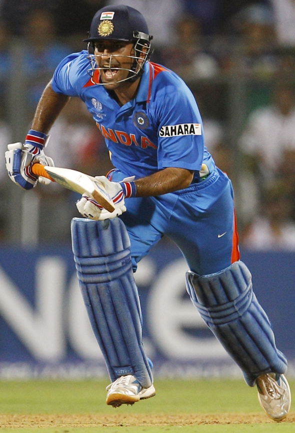 information on dhoni In cricket, it's generally with a pair of gloves that you see information arriving from  the dressing room dhoni was doing the opposite though.