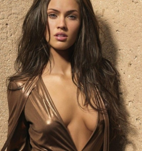 Hollywood celebrity with Sexiest Breast Megan Fox