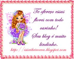 Selinho da amiga Isis Ribeiro