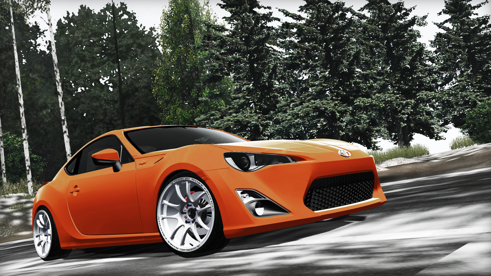 Illegal street mod toyota gt86 for Toyota 86 exterior mods