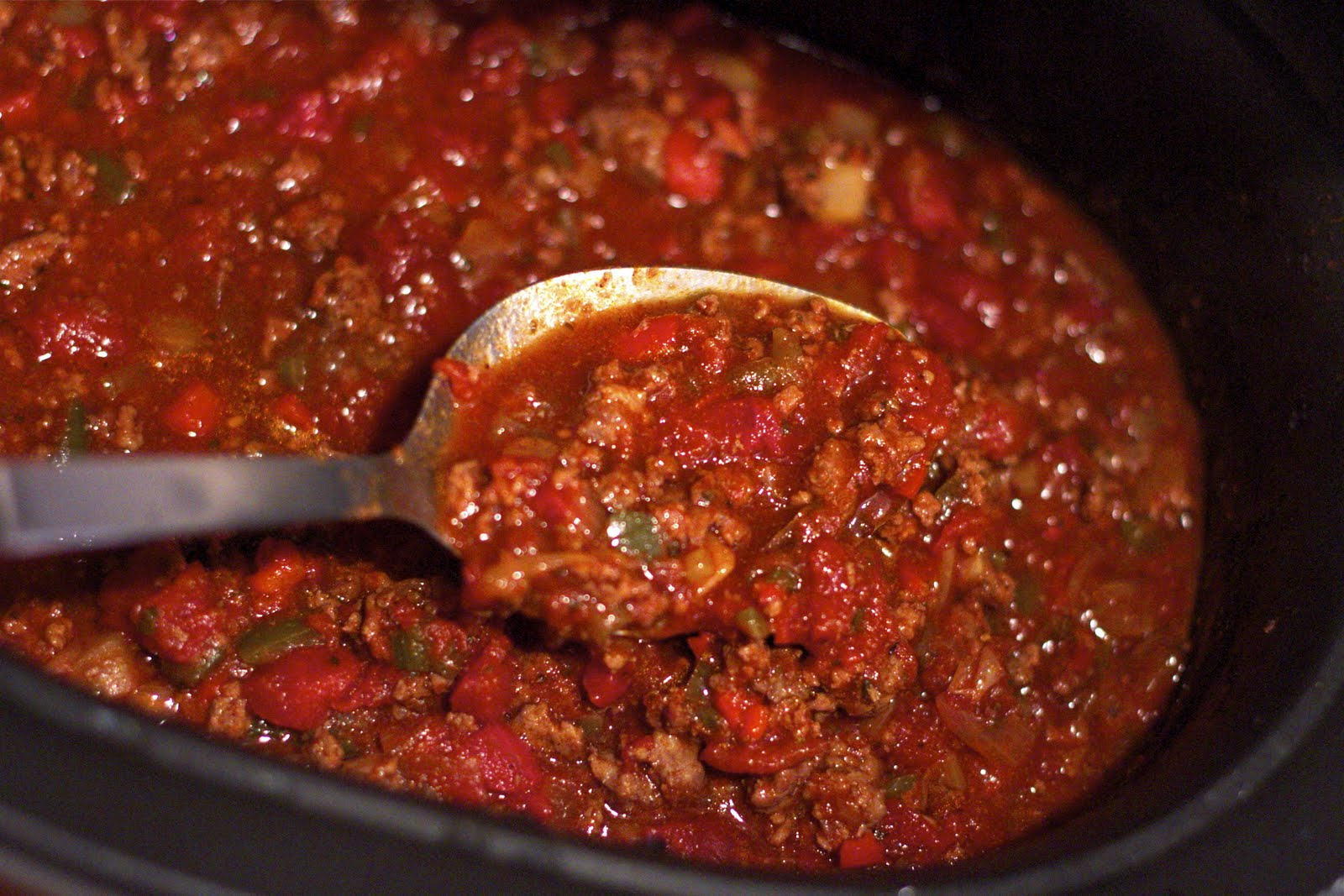 ... and Dine In: Smoky Turkey Chili ~ a slow cooker Weight Watcher recipe