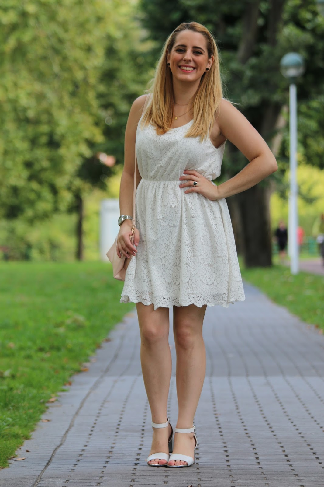 Outfits Vestido Blanco