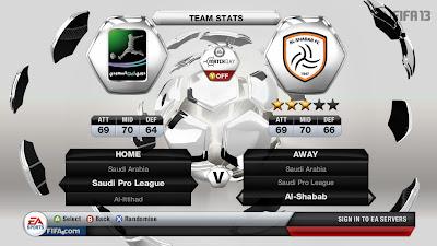 FIFA 13 Saudi Arabia - Saudi Pro League