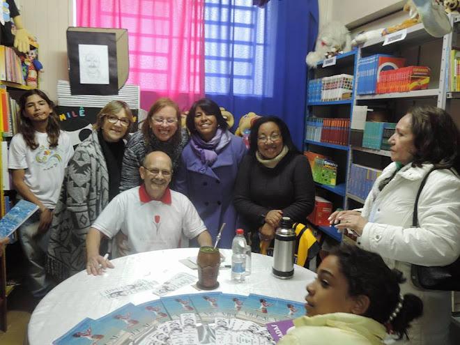 Professoras da Escola Arnaldo Faria
