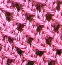 Knit Mesh Stitch Knitting : MESH STITCH KNITTING Free Knitting Projects