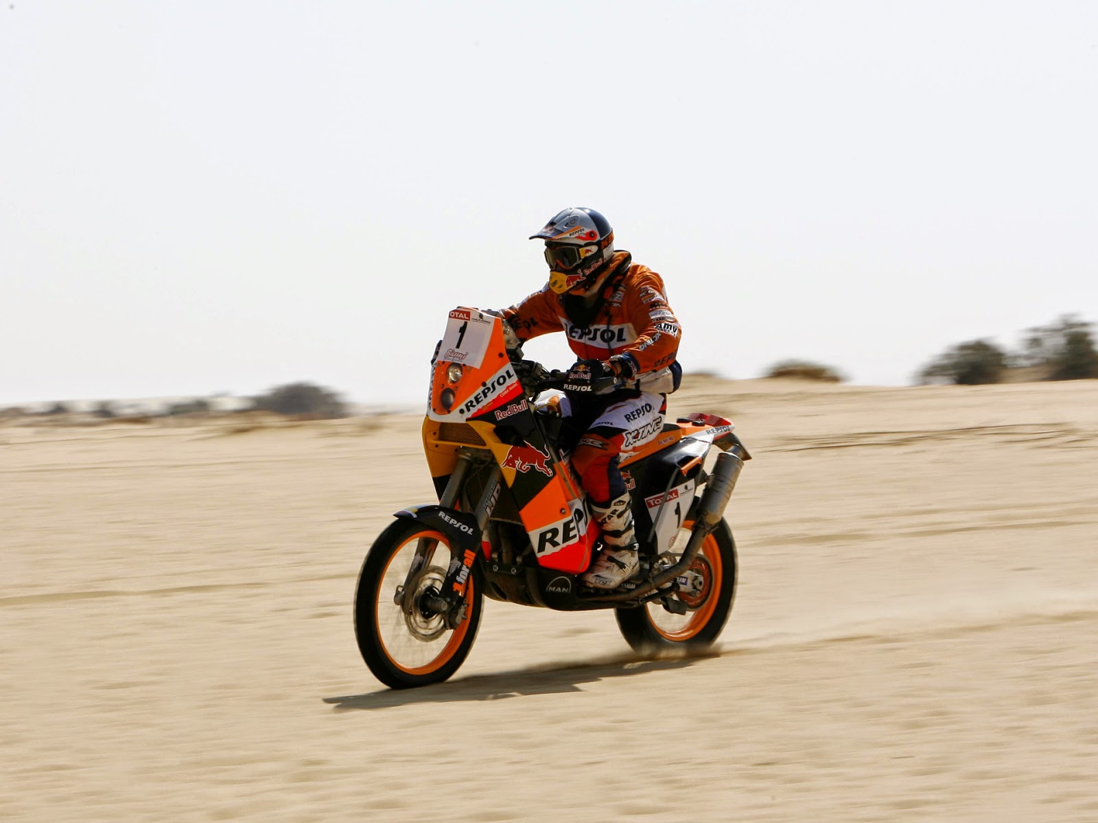 KTM 690 Rally Bike Photos