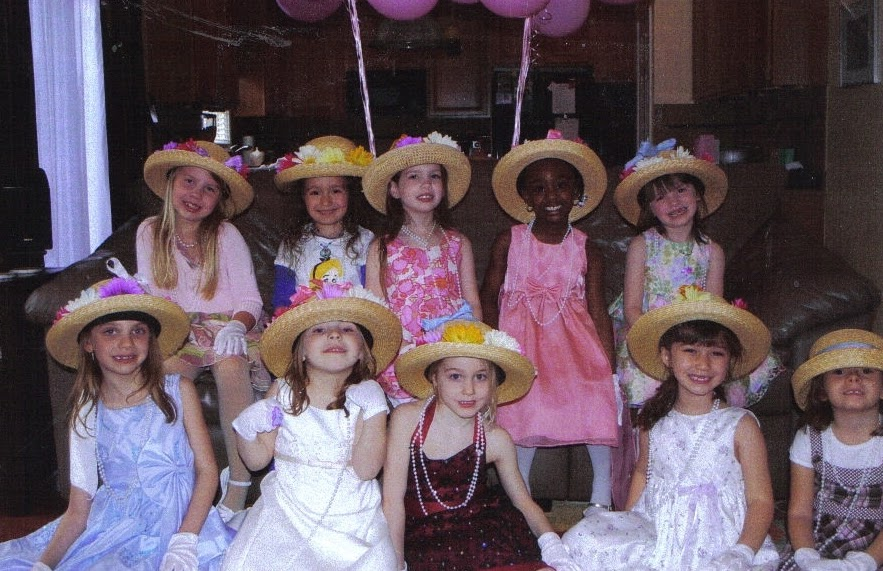 Image result for little girls tea party
