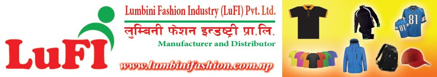 LuFI - Lumbini Fashion Industry | T-Shirt | Track-suit | Jacket | Cap | School Dress & Uniform