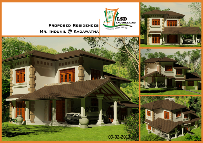 Sri lanka house construction and house plan sri lanka for House construction companies