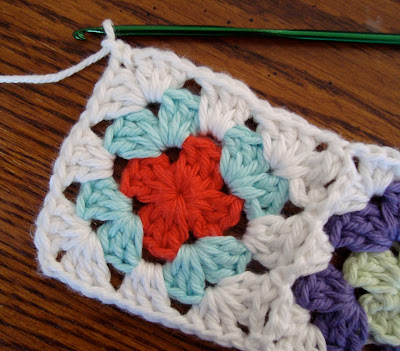how to make a granny square guitar strap