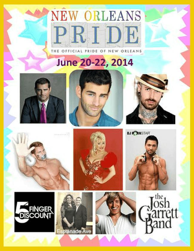 New Orleans Gay LGBT Pride 2014