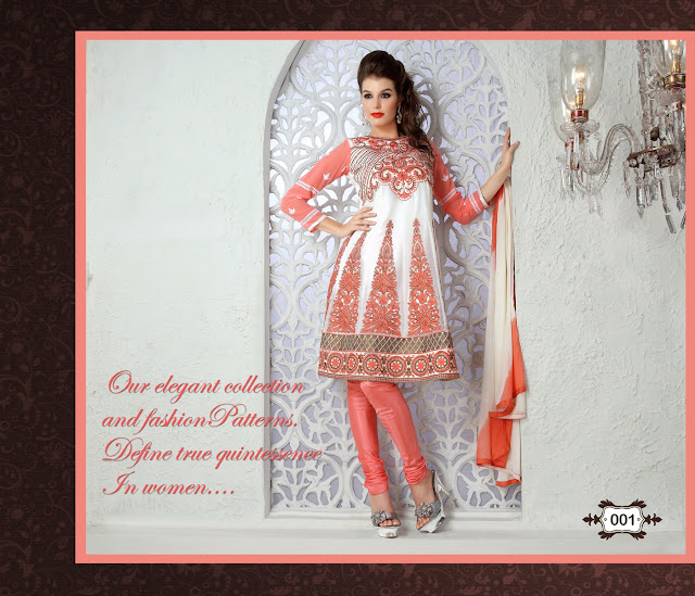Most Beautiful Designer Embroidery Anarkali Salwar Suits