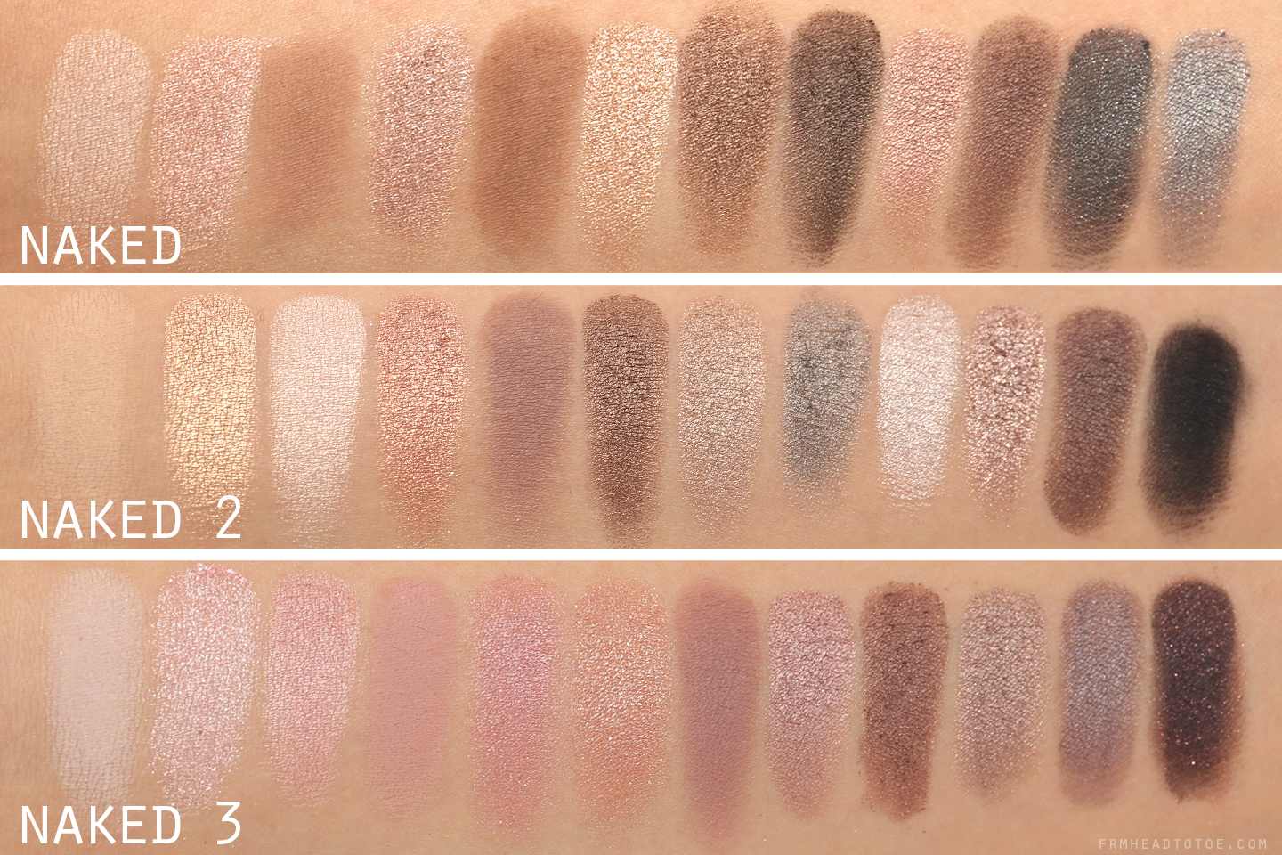 Urban decay s naked palettes in makeup and hair forum