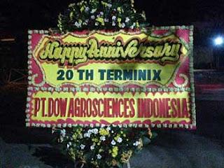 Bunga Papan Ucapan Anniversary Therminix Bogor