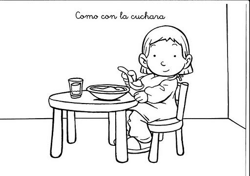 Dibujos de hábitos en los niños - Imagui