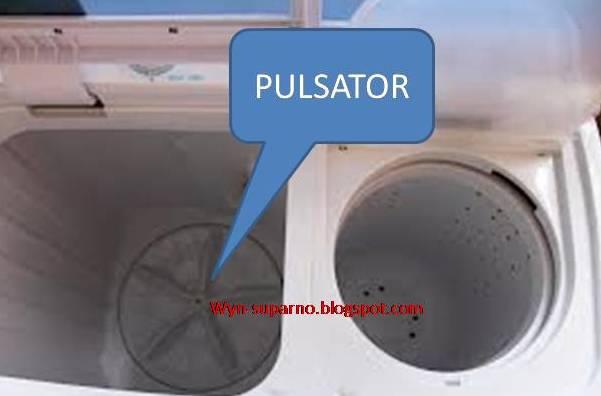 Mesin Cuci Rusak PULSATOR di tandai dengan tidak berputarnya cucian ...