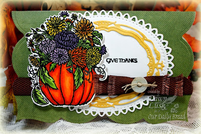 Stamps - Our Daily Bread Designs Fall Flower Pumpkin, Thankful Song, ODBD Custom Pumpkin & Flowers Die