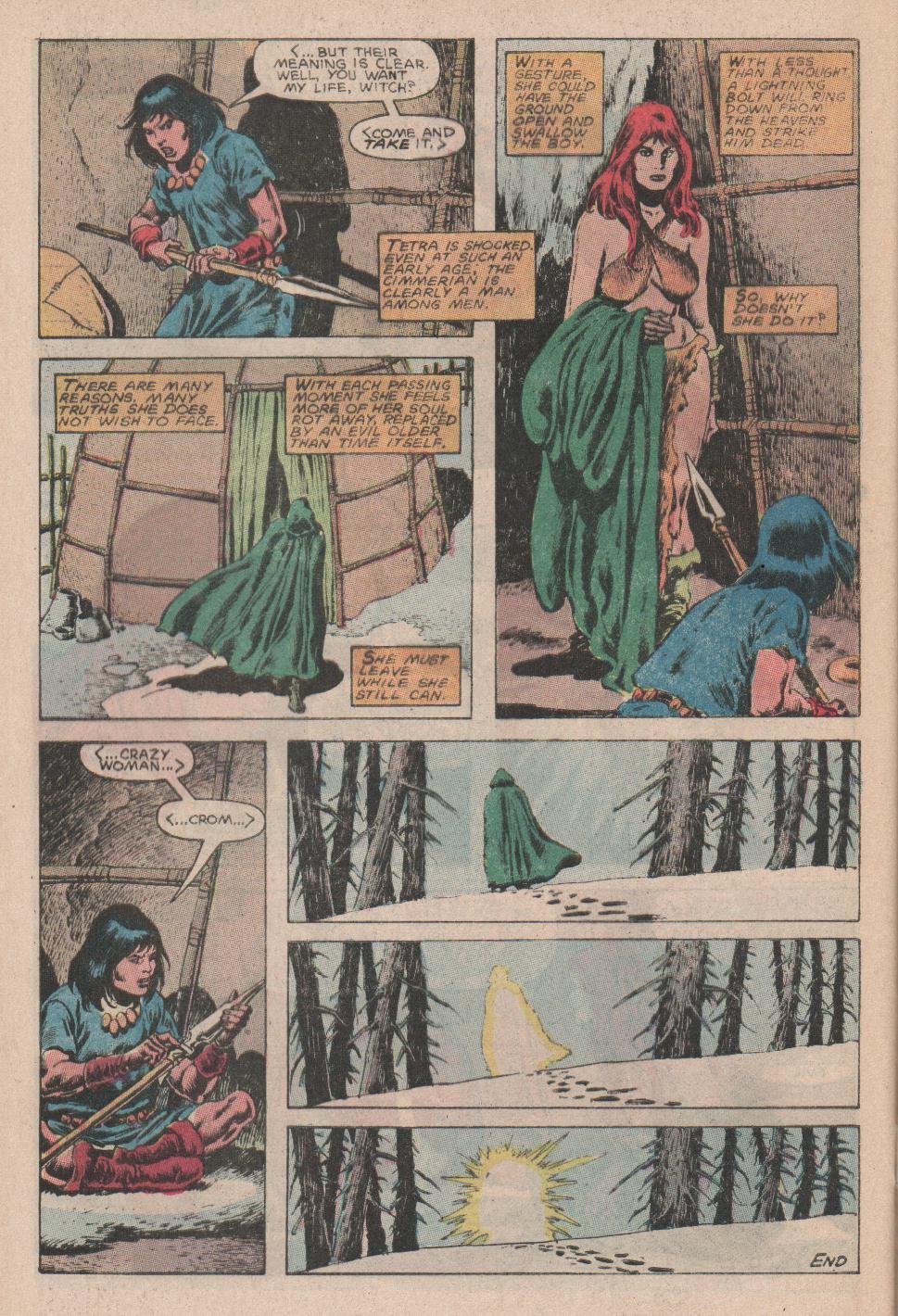 Conan the Barbarian (1970) Issue #178 #190 - English 23