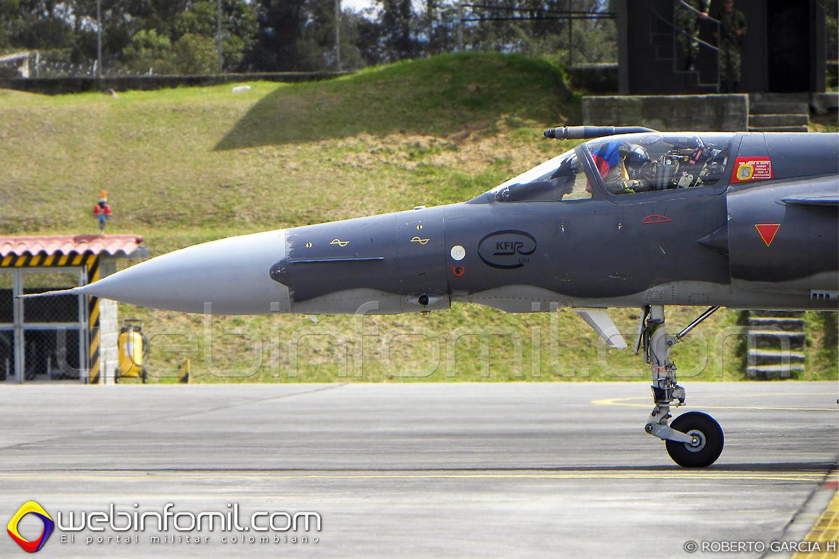 Kfir C-10 Fuerza Aérea Colombiana