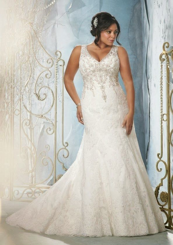 plus size wedding gown spesial