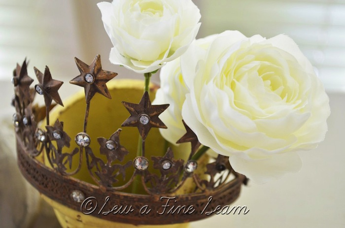 Rustic Crown and Rose #rustic #rose #crown