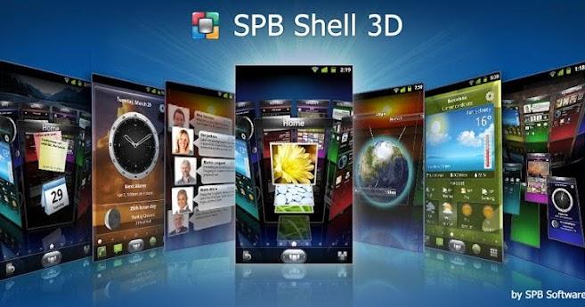 SPB Shell 3D 1.6.3 apk full cracked for Android Mediafire