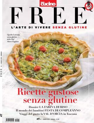 free la nuova rivista senza glutine è in edicola!