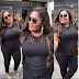 Eniola Badmus wows in black