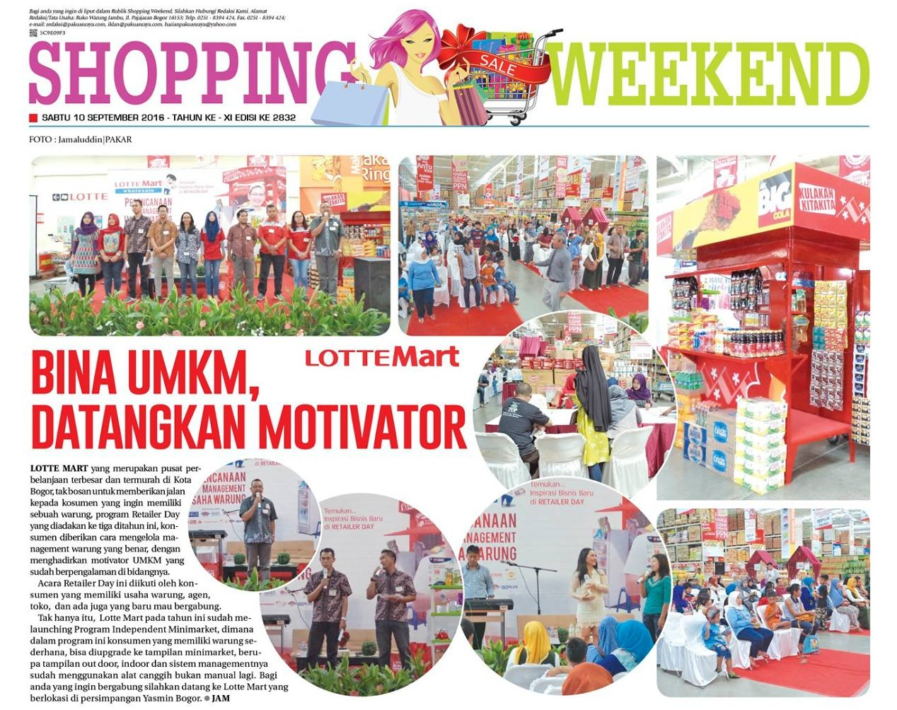 Terima Kasih LOTTEMart & SHOPPING WEEKEND